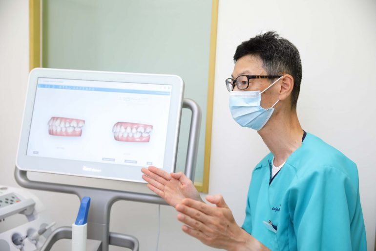 3Dデジタルスキャンによる矯正治療